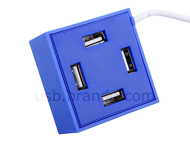 USB Brick 4-Port Hub