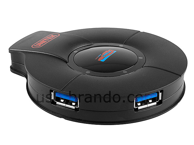USB 3.0 SuperSpeed 4-Port Hub