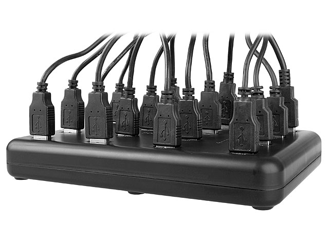 USB Slim 16-Port Hub