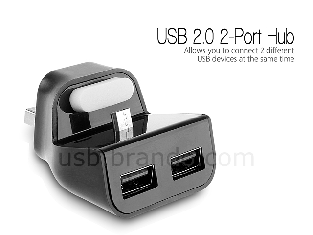 USB Micro-B SyncCharger Stand with Hub II