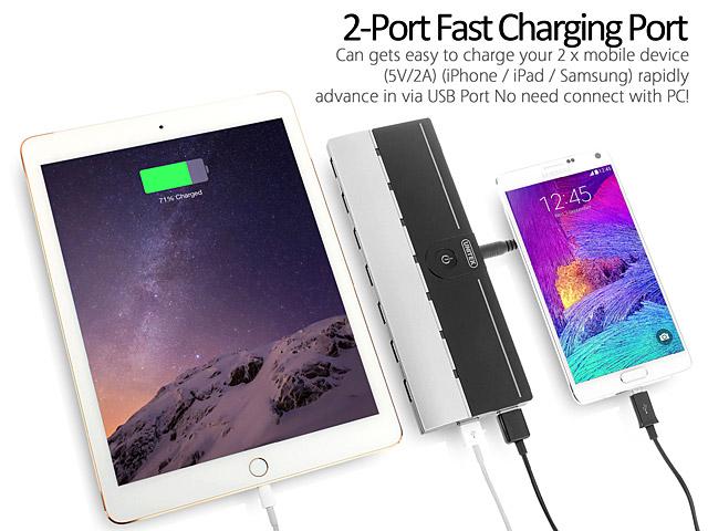 UNITEK Y-3179 7-Port USB 3.0 + 2-Port Charging Hub