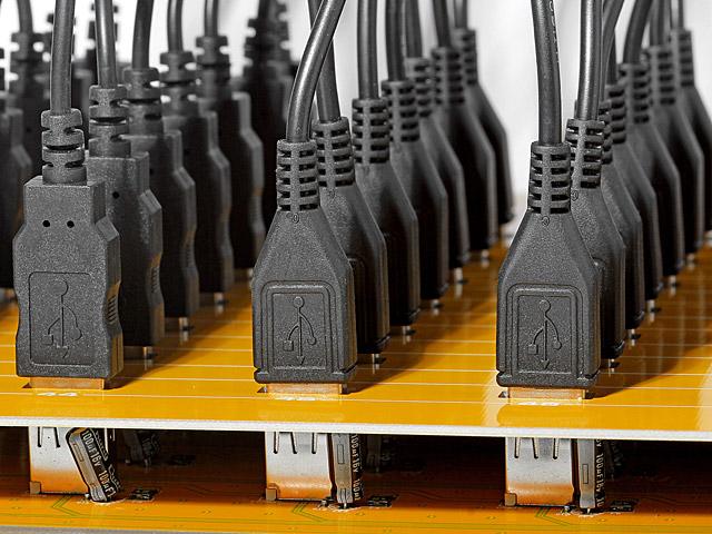 USB 49-Port Hub