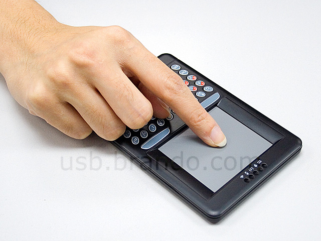 USB Wireless Handheld Keyboard and Touchpad