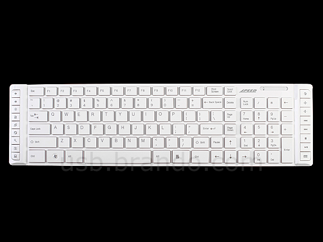 Ultra-Slim Wireless Keyboard and Laser Mouse