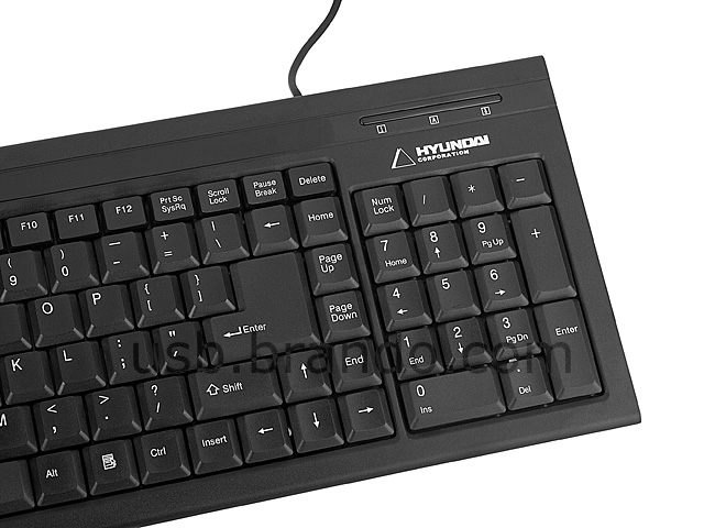 HYUNDAI Flat-Panel Multimedia Keyboard