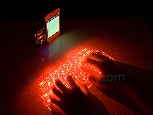 projection keyboard Esupfly portable virtual laser keyboard & mouse wireless bluetooth laser projection projected keyboard for apple iphone, ipad, samsung, android smart phones and tablets, laptops, pc.