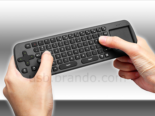 Measy Wireless Keyboard With Touchpad Rc12