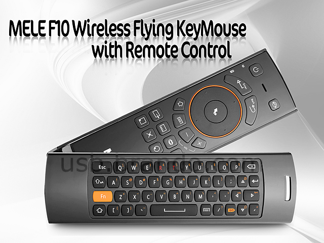 MELE F10 Wireless Flying KeyMouse with Remote Control