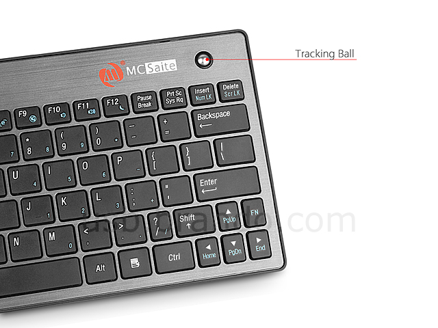Bluetooth Multimedia Mini Keyboard with Trackball
