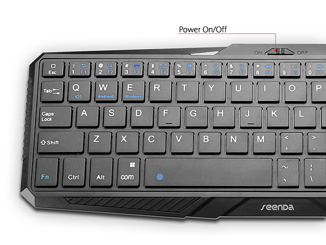 Bluetooth Touchpad Keyboard (IBK-02)