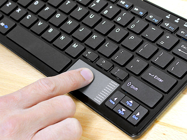 3508ca847cc Bluetooth Keyboard with Touchpad (C201)