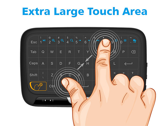 Mini Wireless Touchpad Keyboard (H18)