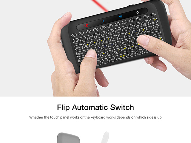 H20 Wireless Mini Keyboard Touchpad