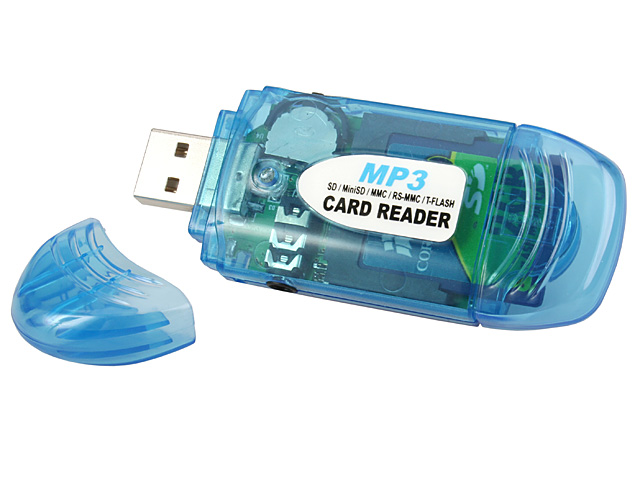 USB MP3 Player + SD/MMC Card Reader
