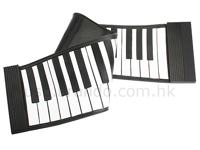 USB Roll-Up Piano