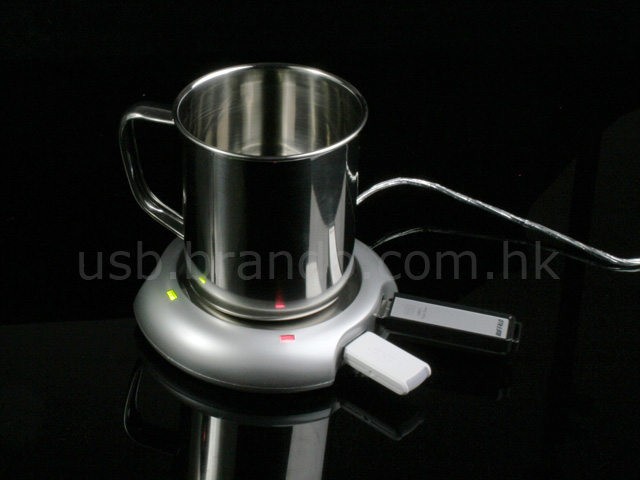 USB Cup Warmer with Hub