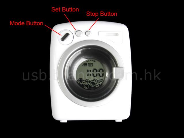 Usb Washing Machine Alarm Clock