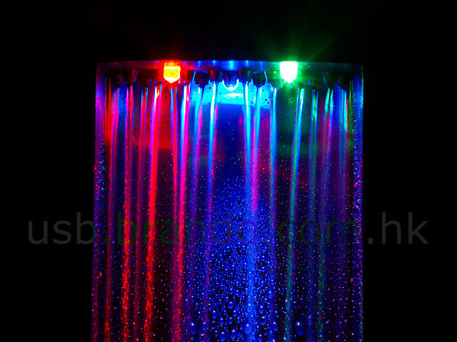 Usb Illuminated Led Waterfall Cloud Fountain