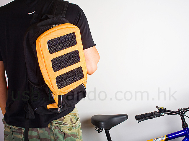 Multi-Purpose Solar Charger Backpack (10,000mAh)