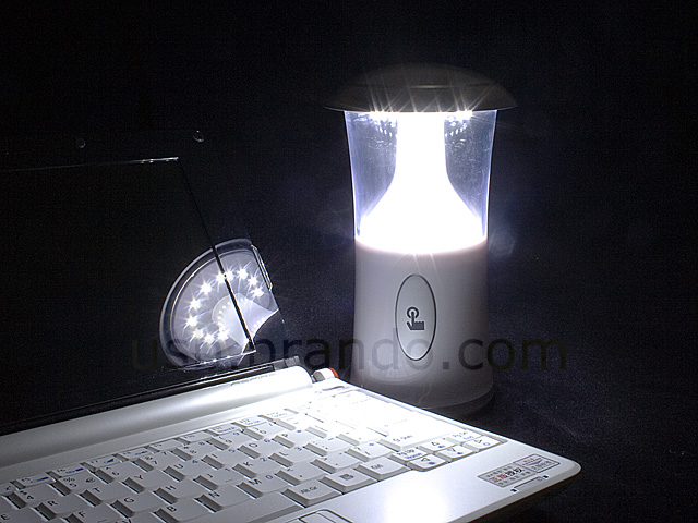 USB Touch-Sensitive Portable LED Lamp