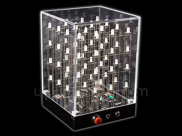 4x4x4 Multi Color Led Cube