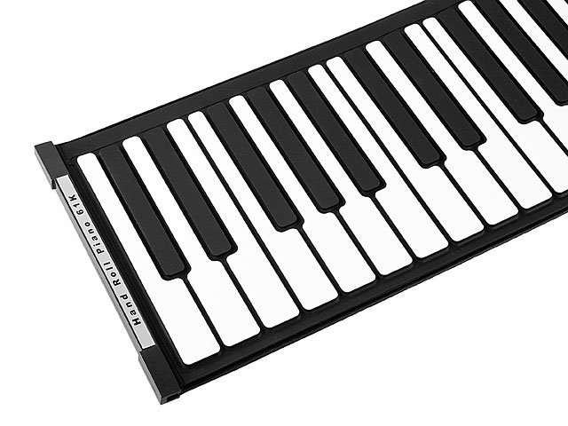 USB Roll Up Piano with MIDI Out