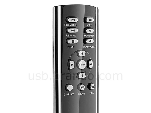 Wireless BLU-RAY Media DVD USB PS3 Remote Controller