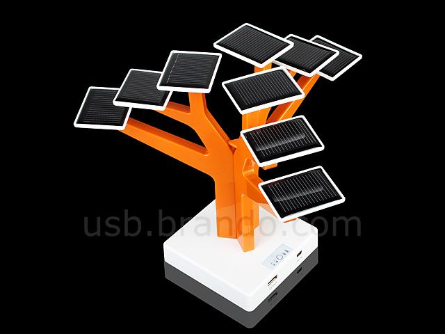 Дерево с солнечной энергией