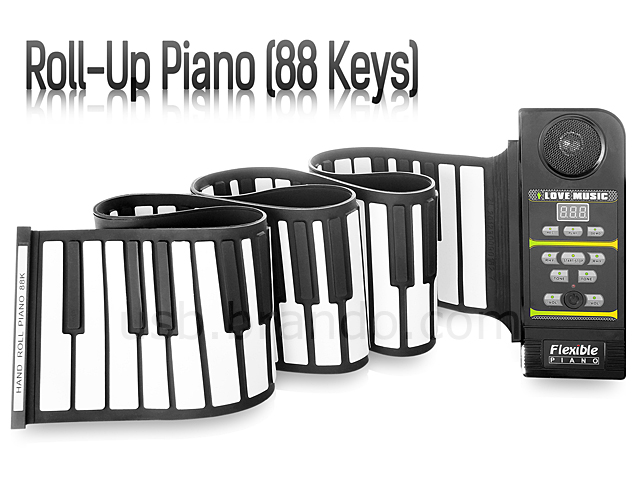 Roll-Up Piano (88 Keys)