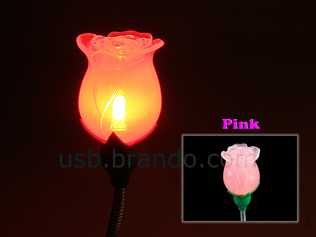USB Rose Lamp