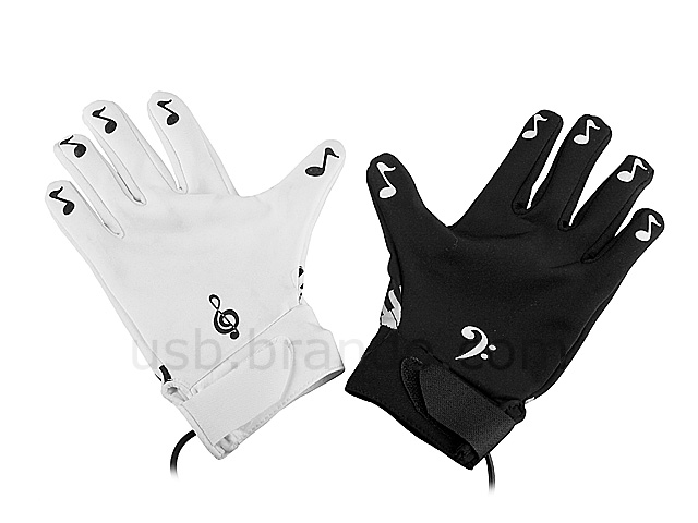 electronic piano gloves. Black Bedroom Furniture Sets. Home Design Ideas
