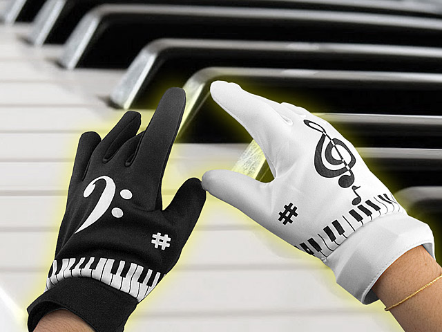 Electronic Piano Gloves