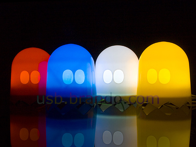 USB Light-Sensitive Ghost Lamp