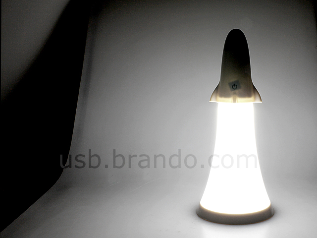 Spaceship Torch Table Lamp