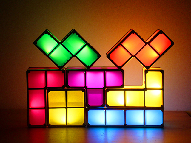 DIY USB Tetris Stackable LED Light - USB Tetris Stackable LED Light