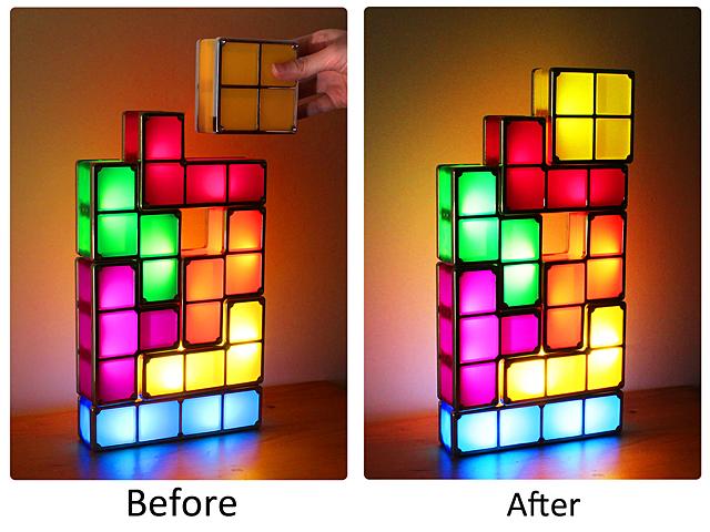 USB Tetris Stackable LED Light