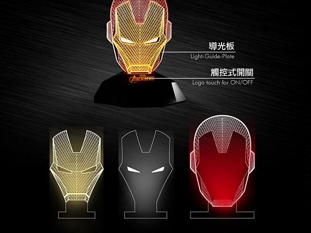 InfoThink Iron Man 3D Line Lamp