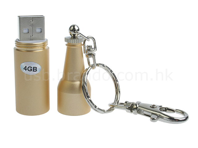 USB Champagne-Like Flash Drive