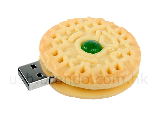 USB Biscuit Flash Drive