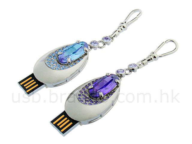 USB Jewel Thumb Drive (Tear Drop)