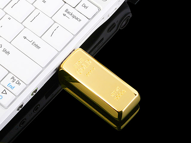 USB Gold Bar Flash Drive