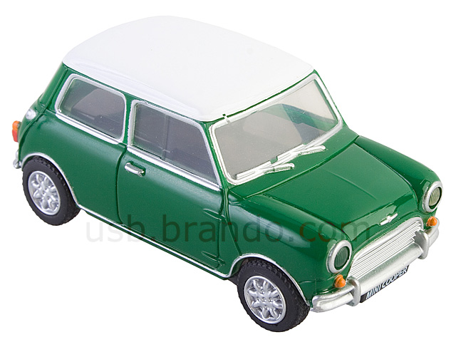 USB Mini Cooper Flash Drive (Green)