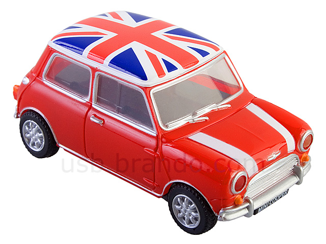 Usb Mini Cooper Flash Drive Union Jack Flag