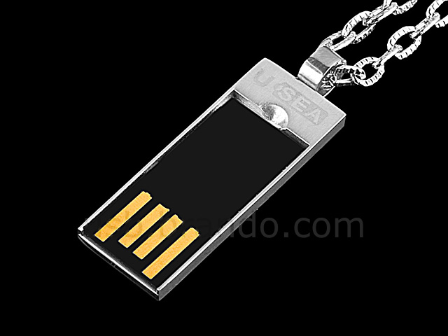 USB Lip Necklace Flash Drive