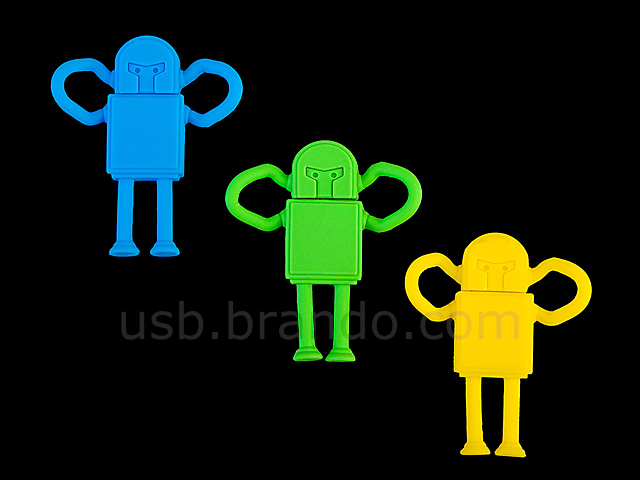 USB Robot Flash Drive