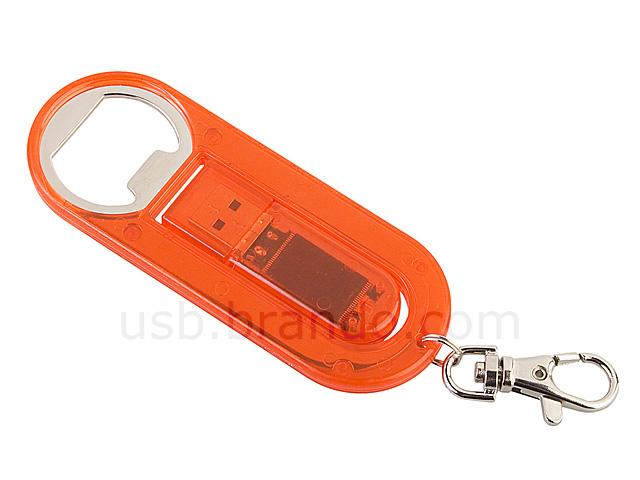 usb bottle opener keychain flash drive. Black Bedroom Furniture Sets. Home Design Ideas