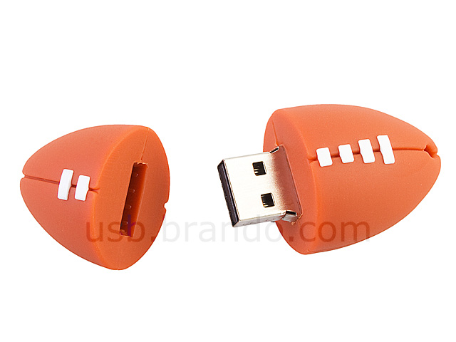 USB Rugby Ball Flash Drive