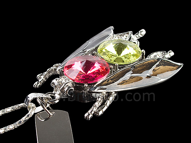 USB Jewel Insect Necklace Flash Drive II
