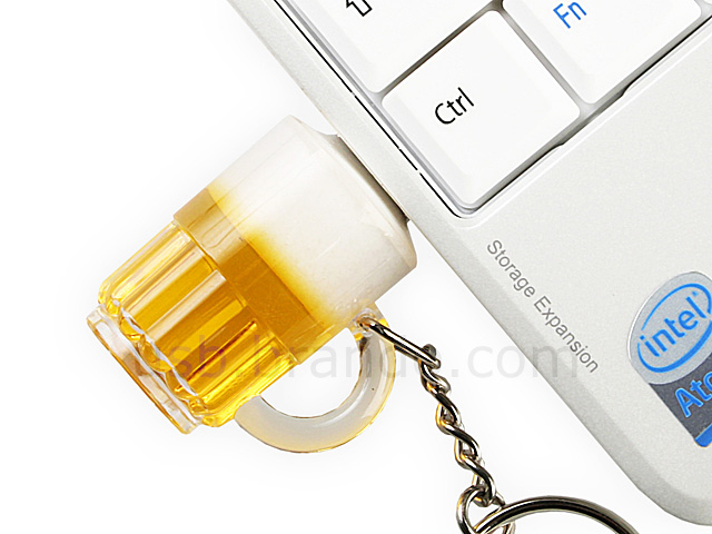 USB Beer Keychain Flash Drive