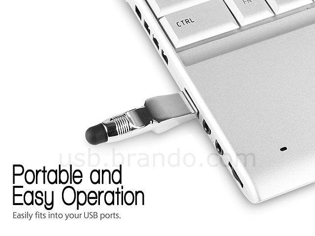 2-in-1 USB Mini Touch Pen Flash Drive
